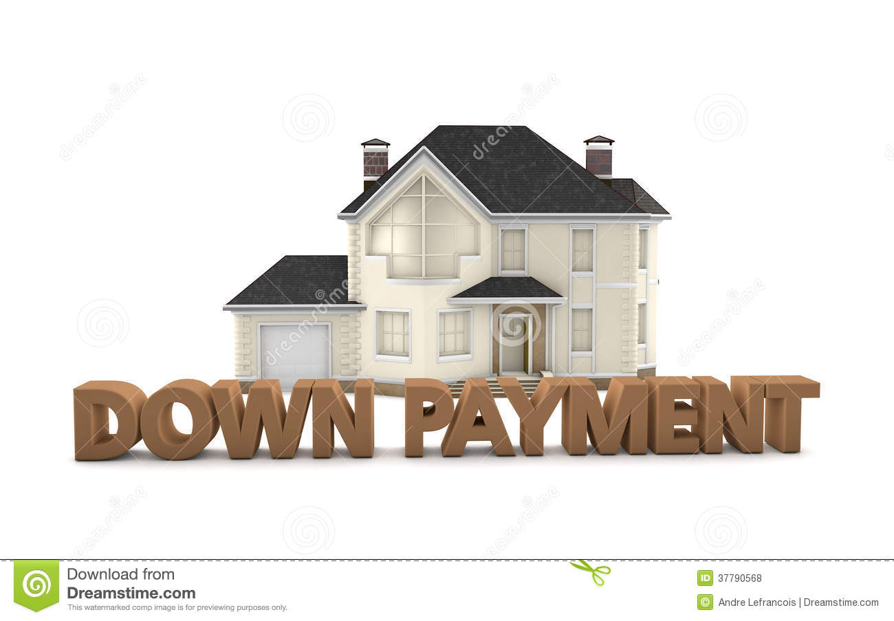 Real Estate Down Payment Royalty Free Stock Photos Image