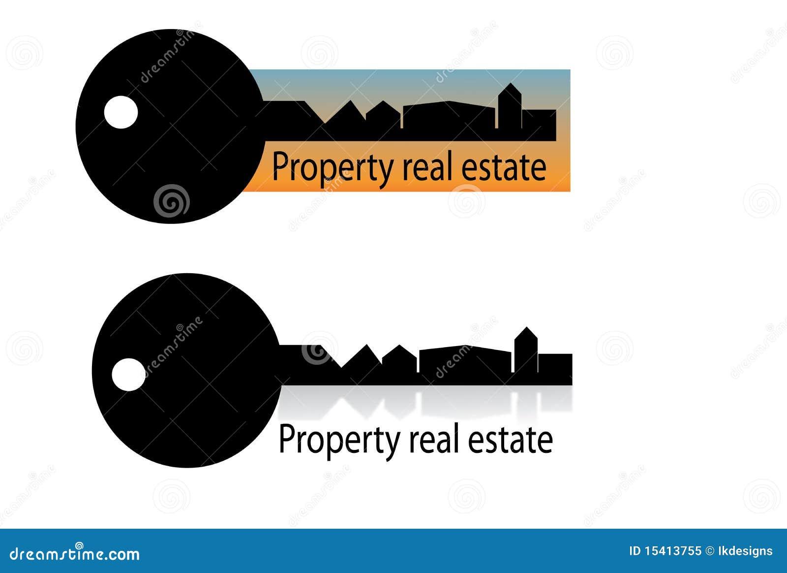 Real estate house logo