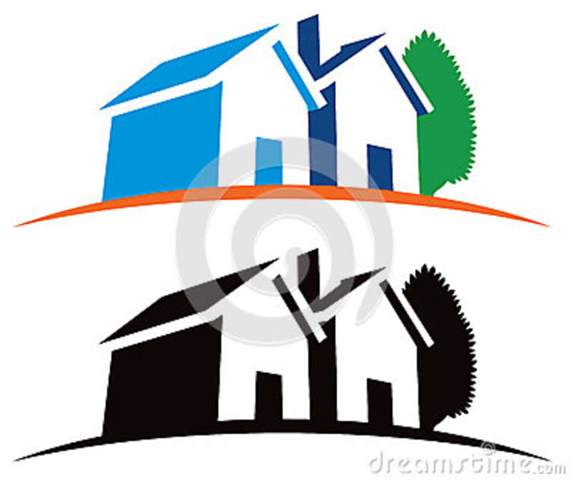Royalty Free Stock Photos Real Estate House Logo Image 34051078