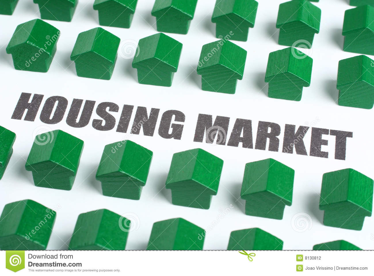 Real Estate Housing Market Stock Photography Image 8130812