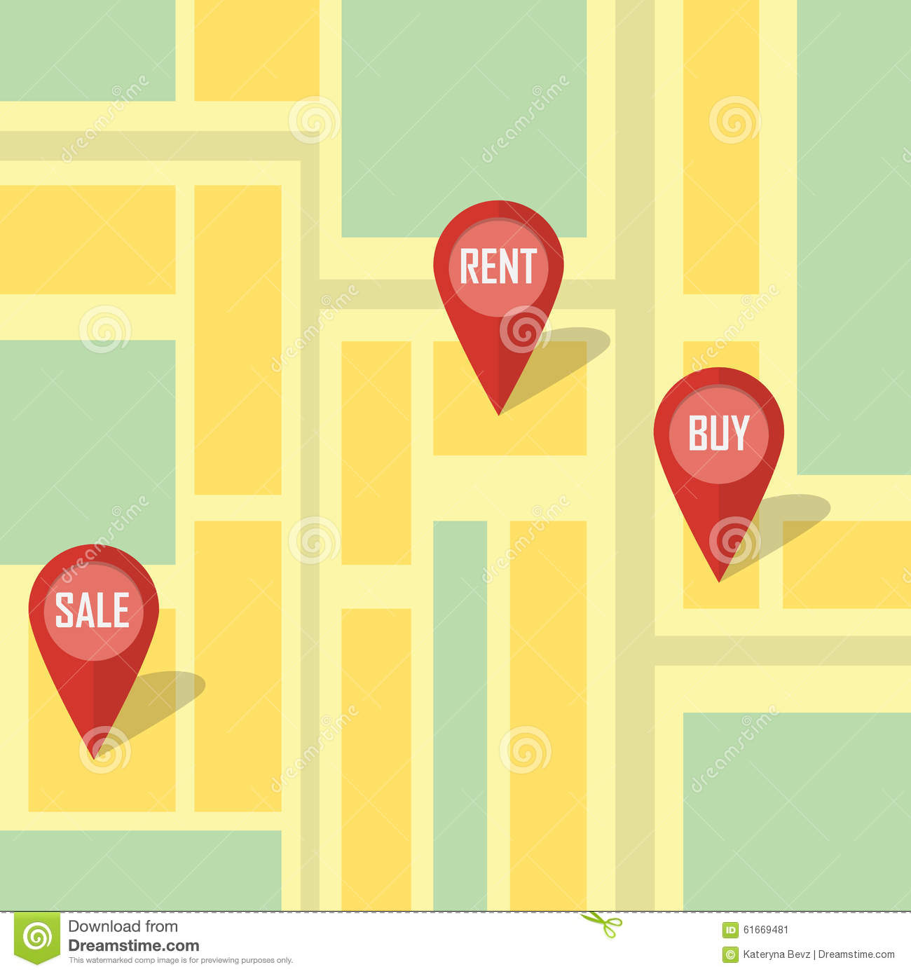 Real Estate Infographic Pointing. Stock Vector