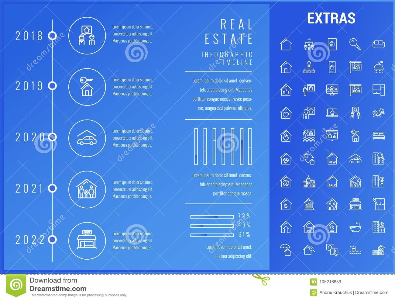 real-estate-infographic-template-element