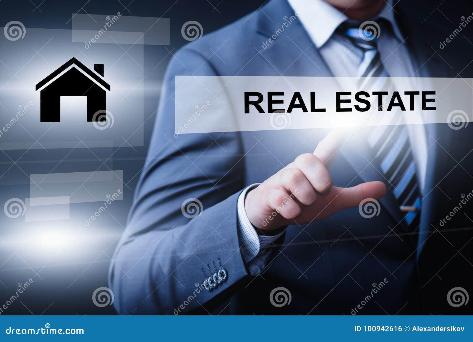 Real Estate intecknar begrepp för köp för egenskapsledninghyra