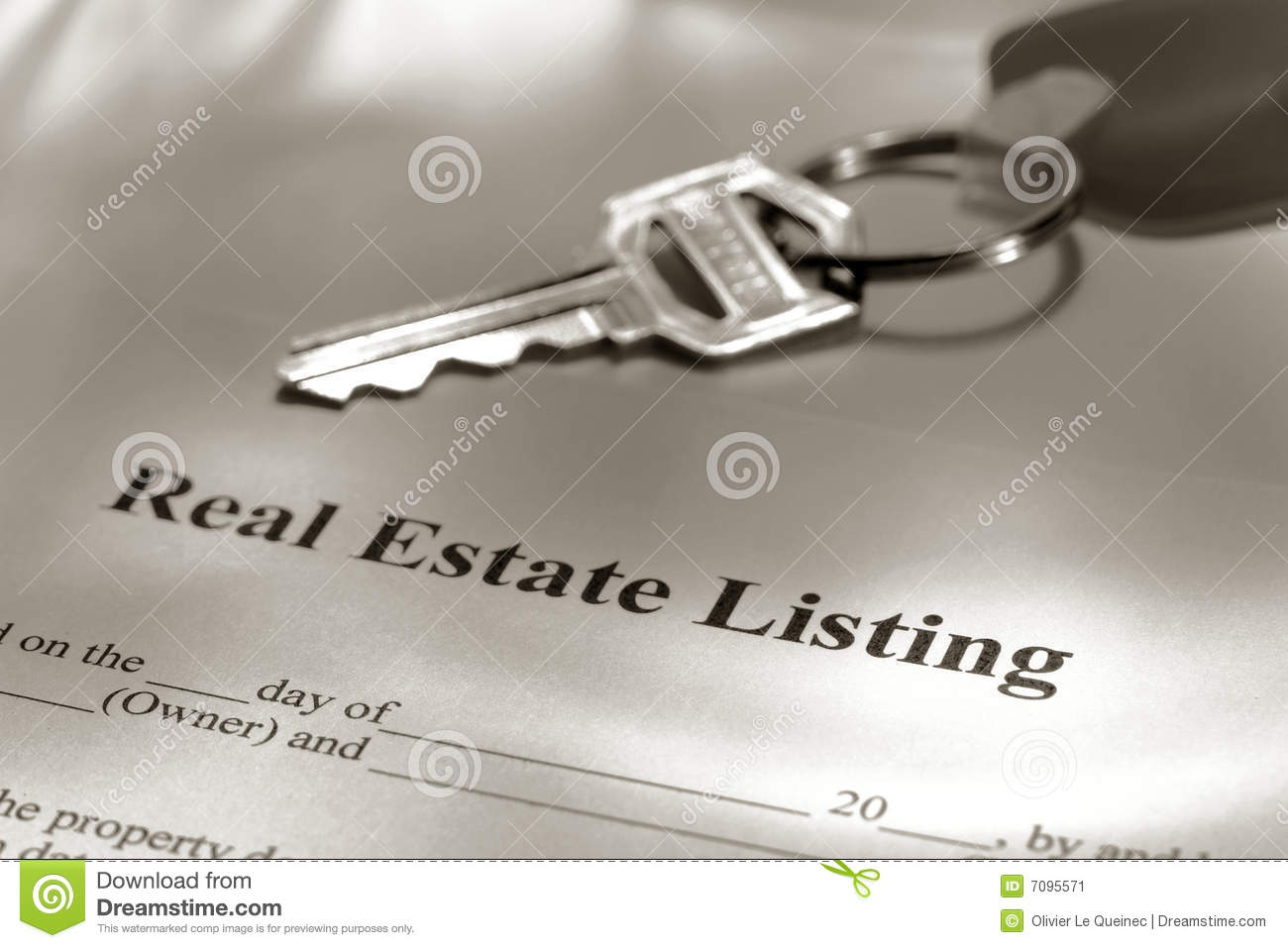 house sale contract: