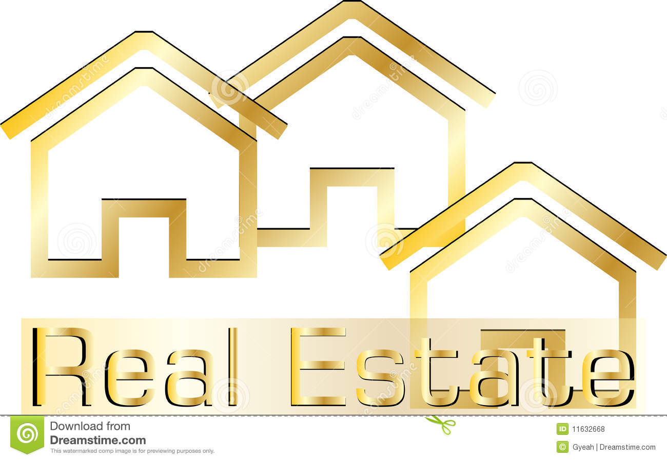 Adobe Homes Plans Real Estate Logo Royalty Free Stock Photos Image 11632668