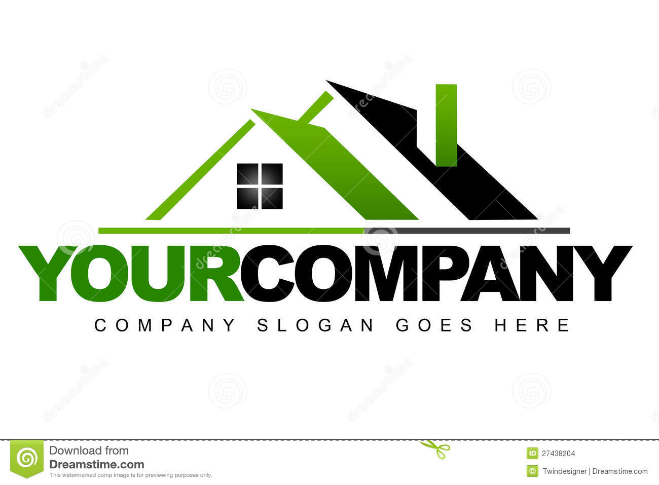 real estate logo illustration 27438204 megapixl