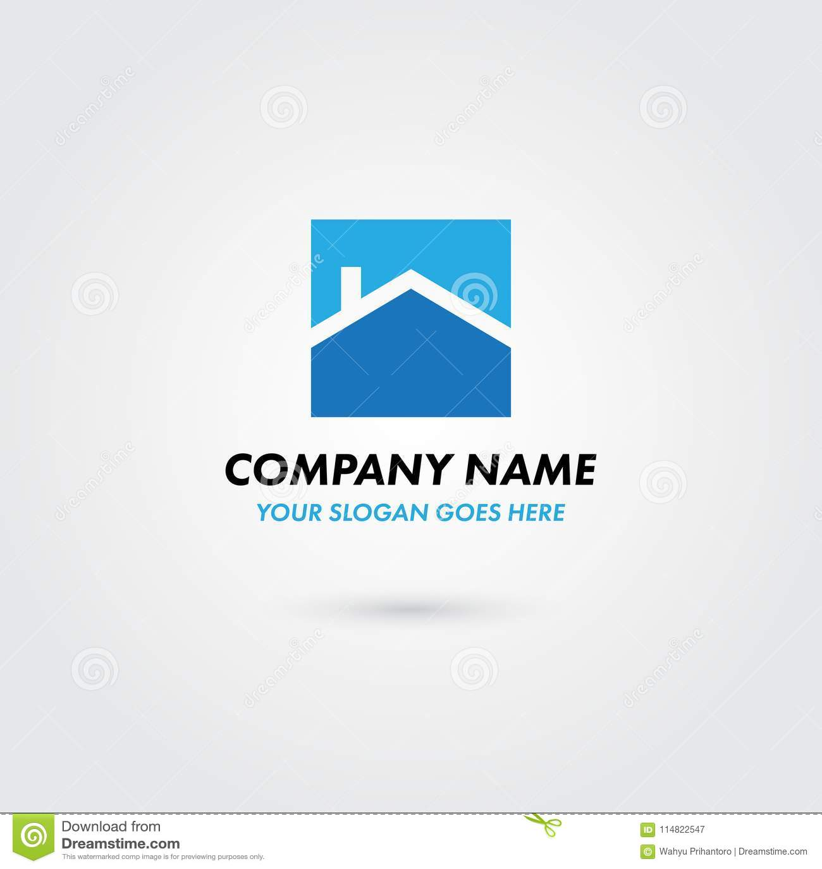 Real Estate Logo Concept Property House Developer Building Home