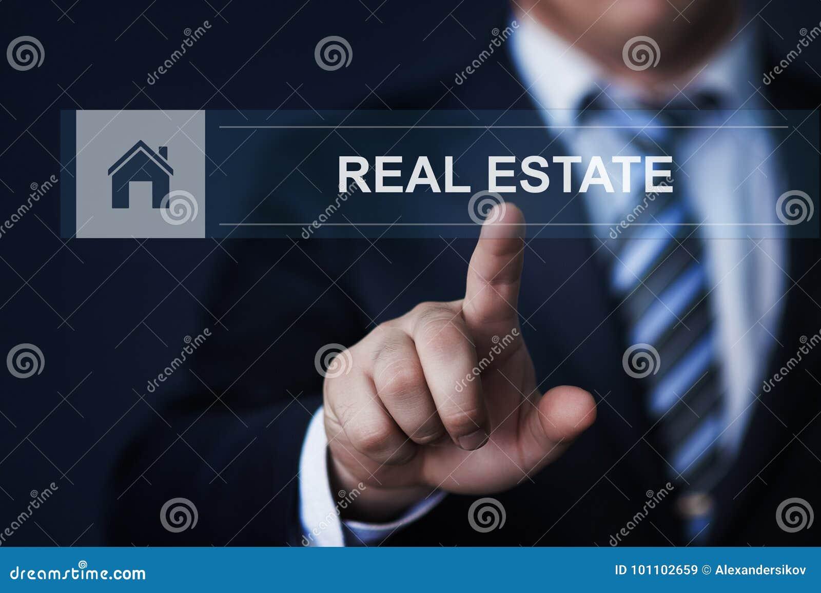 Real Estate Mortgage Property Management Rent Buy concept