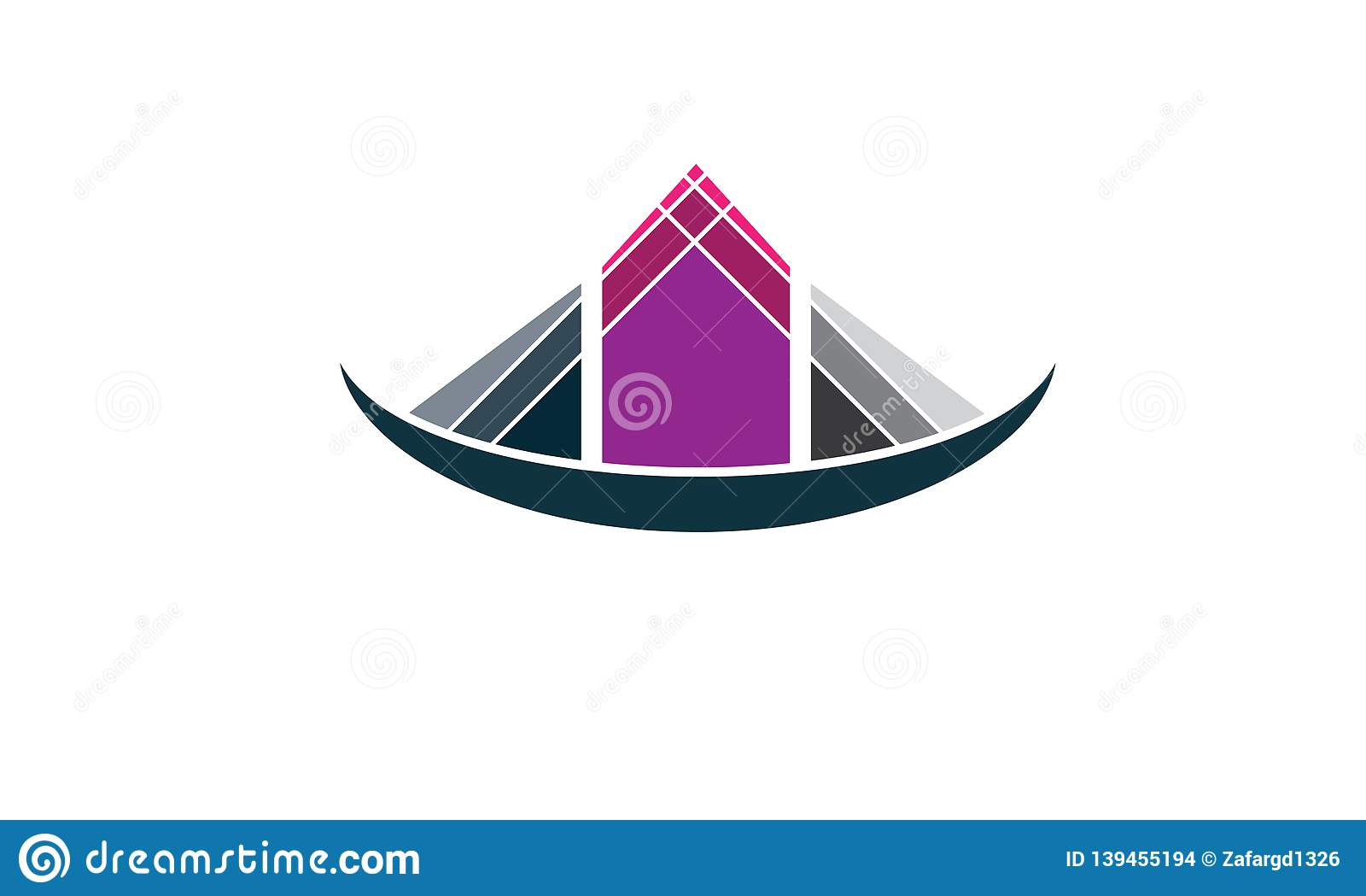 Creative Real Estate House Logo Template Design - Estate Company Logo Icon - Construction Company House Logo Design