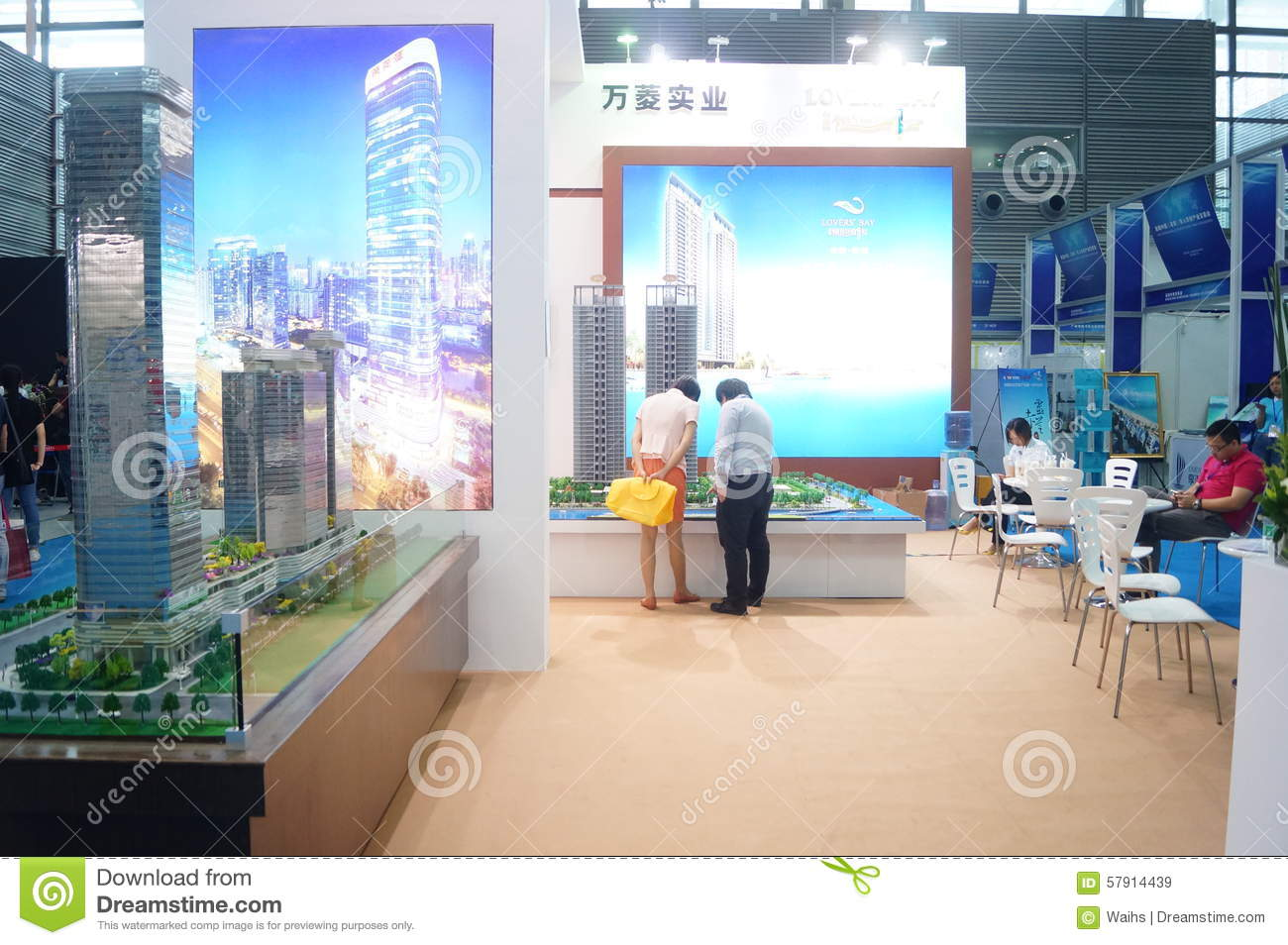 Real Estate Sales Exhibition Editorial Stock Image Image 57914439