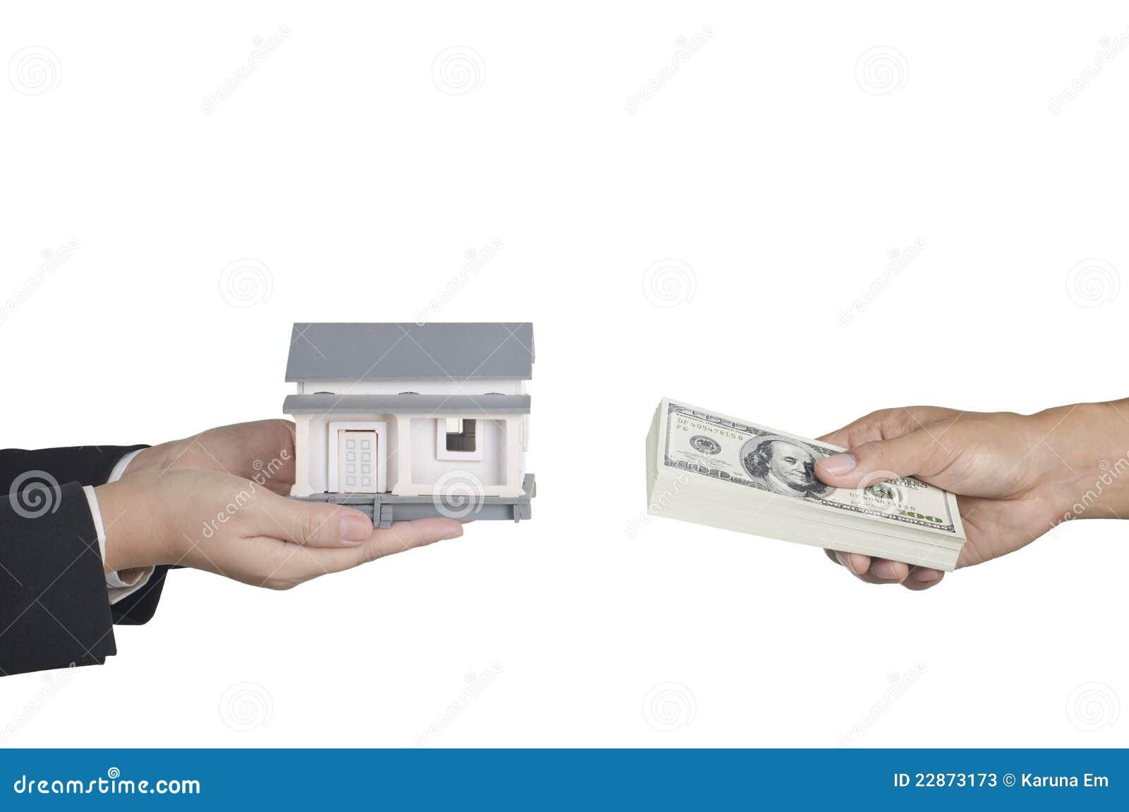 Real Estate Transaction : Real estate transaction concept stock photos image