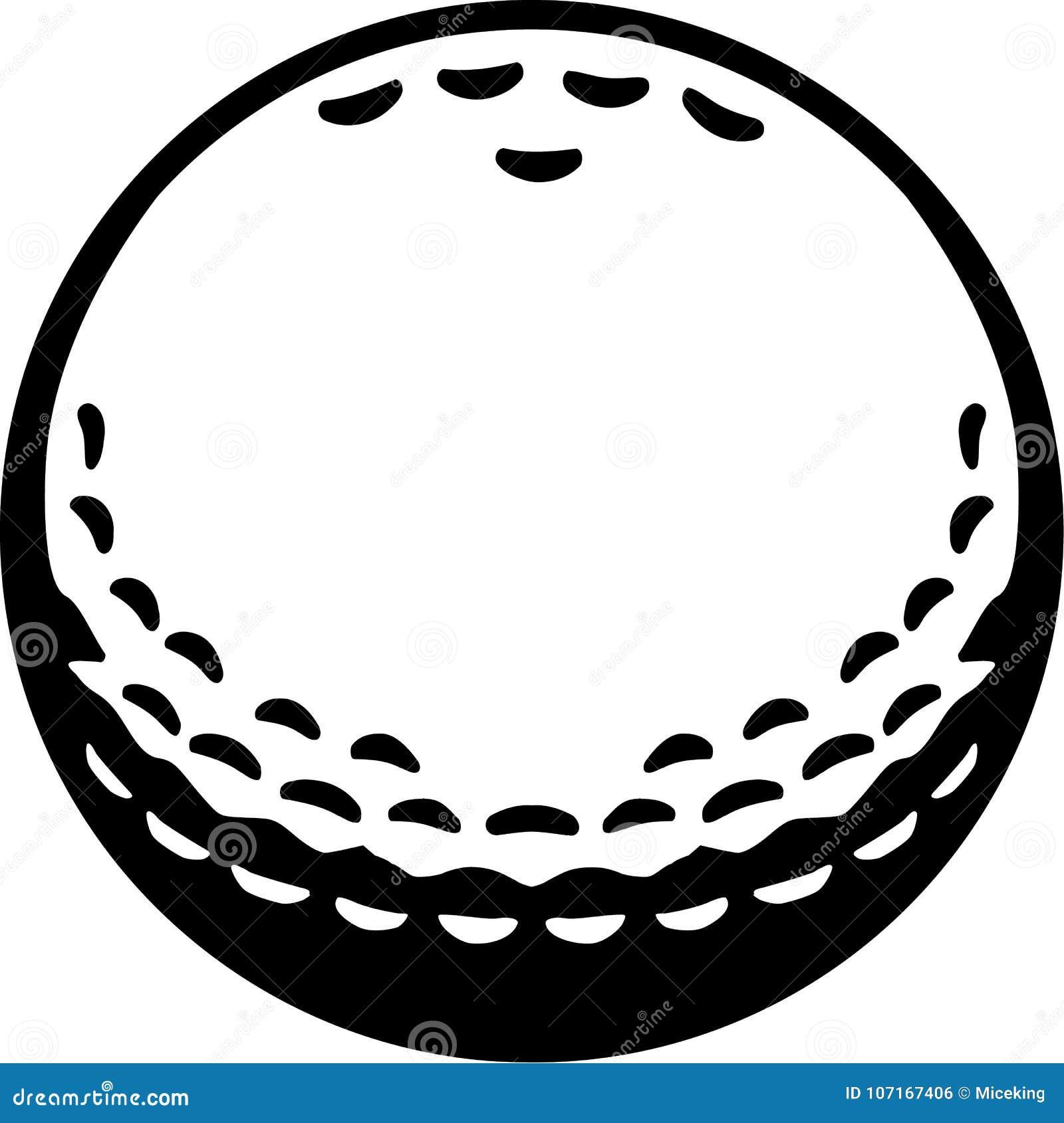 real golf ball stock vector illustration of golf vector 107167406 rh dreamstime com golf vector free golf vector