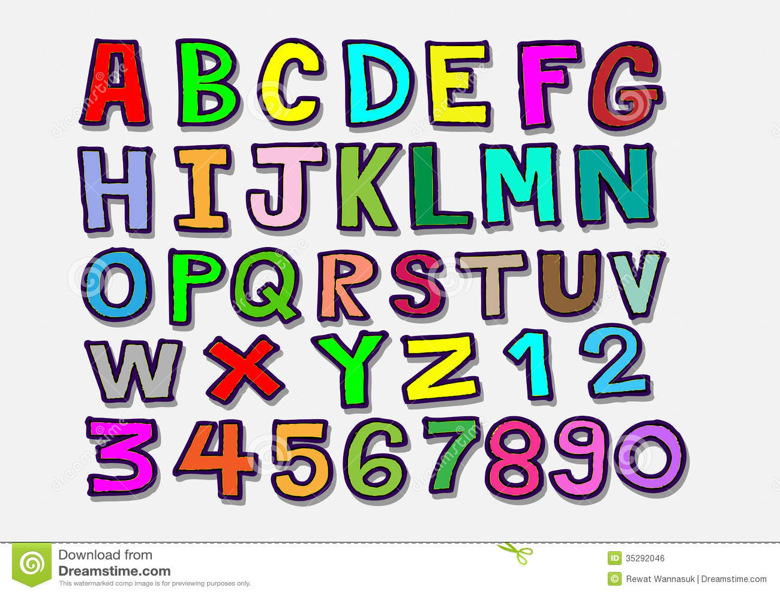 Handwritten Font Stock Vector. Illustration Of Capital - 38949957