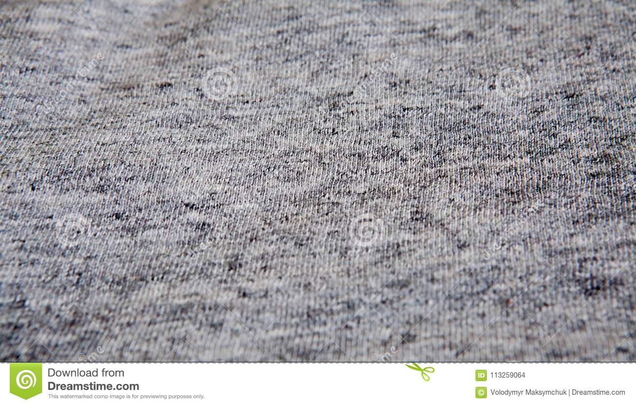 4e3a9e5fb43 Real heather grey knitted fabric made of synthetic fibres textured  background.