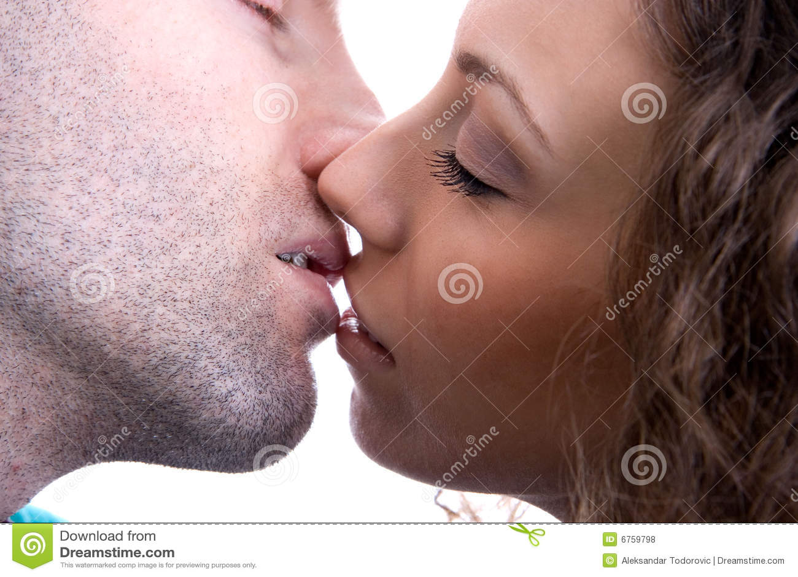 A real kiss