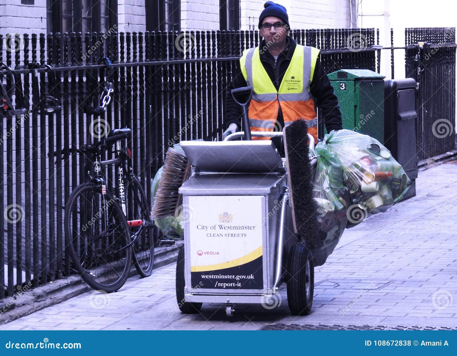 Real life heroes work weekends in London's West End. Soho.
