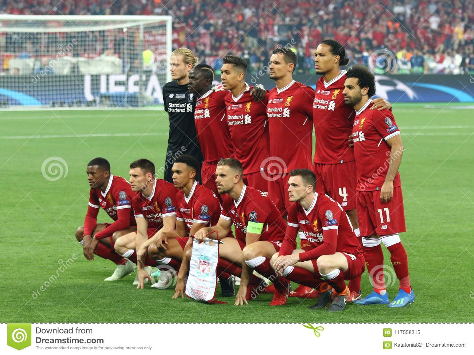 Real Madrid 2018 del final de la liga de campeones de UEFA v Liverpool, Kiev,