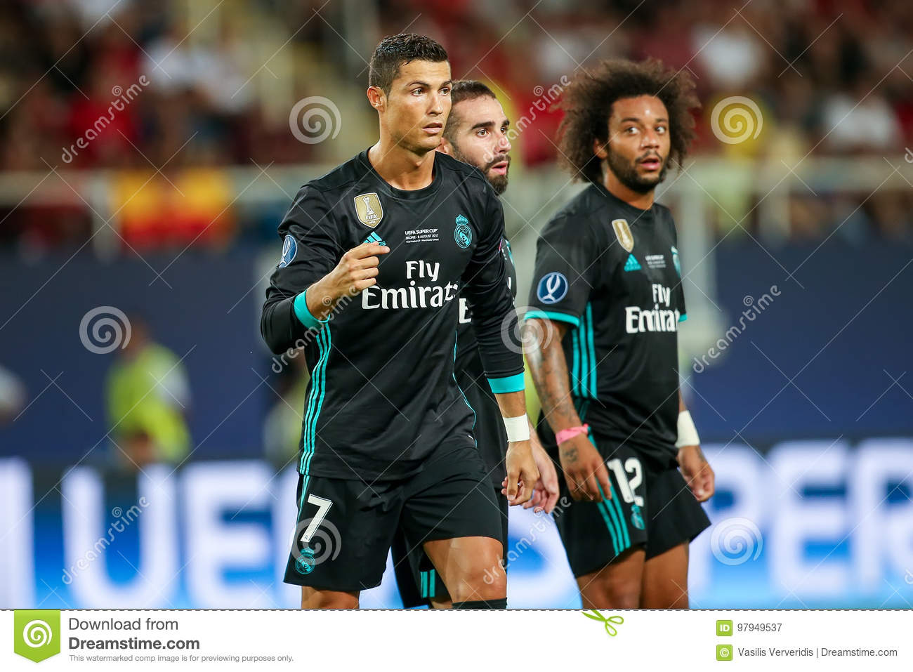 15a9655aab8 REAL MADRID V MANCHESTER UNITED  UEFA SUPER CUP Editorial ...