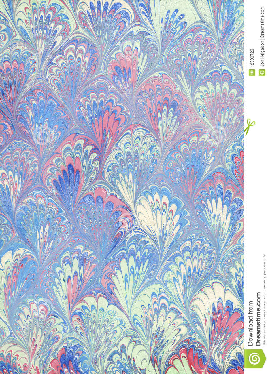 Real Marbled Paper Royalty Free Stock Photos Image 12300728