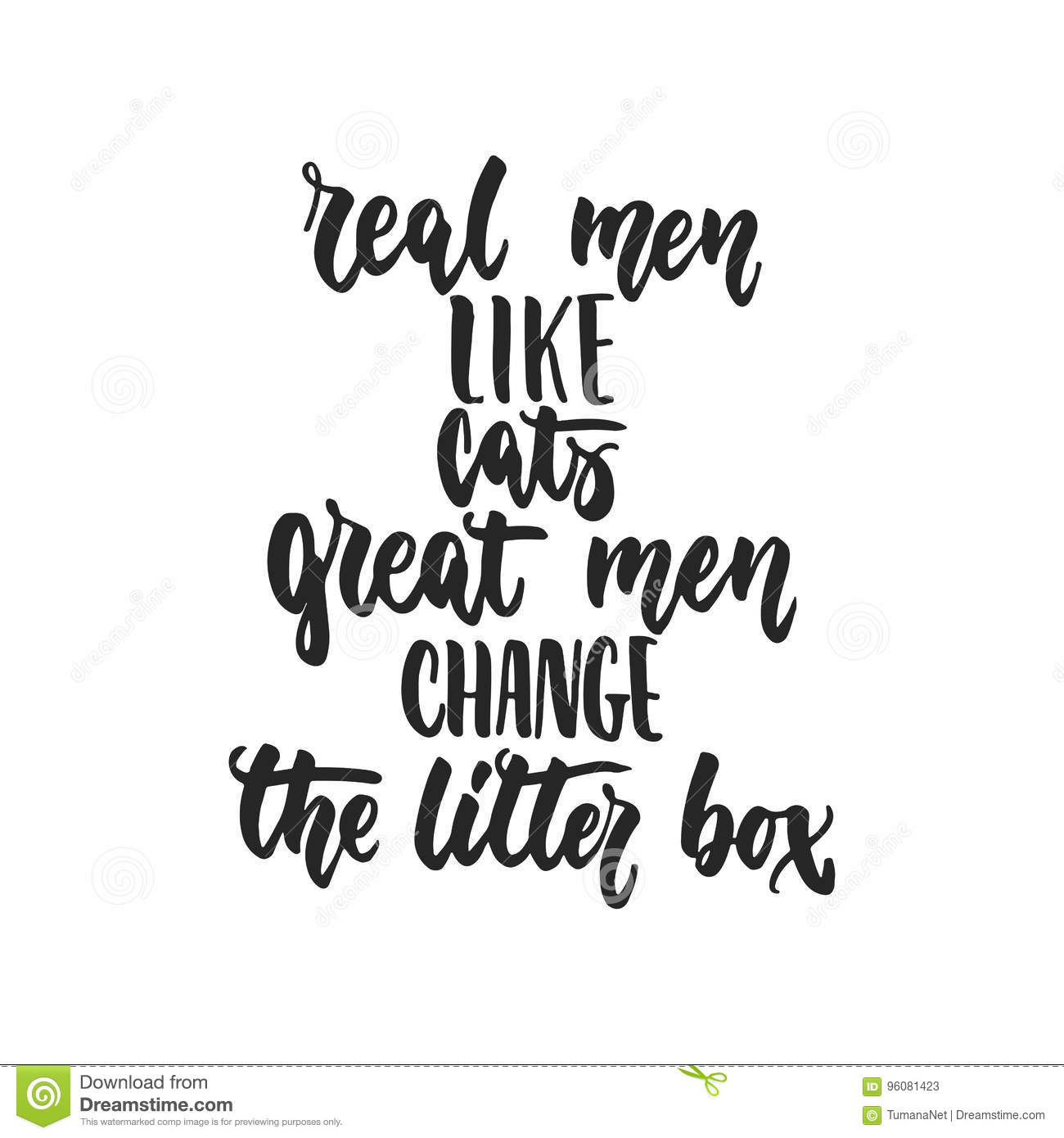 Real Time Stock Quotes Ticker: Real Men Like Cats, Great Men Change The Litter Box