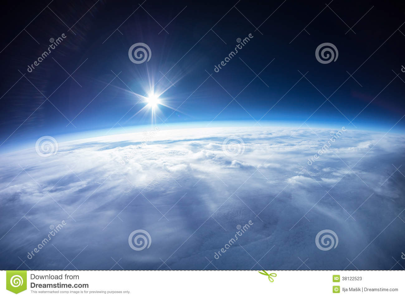 Real Photo - Near Space photography - 20km above ground