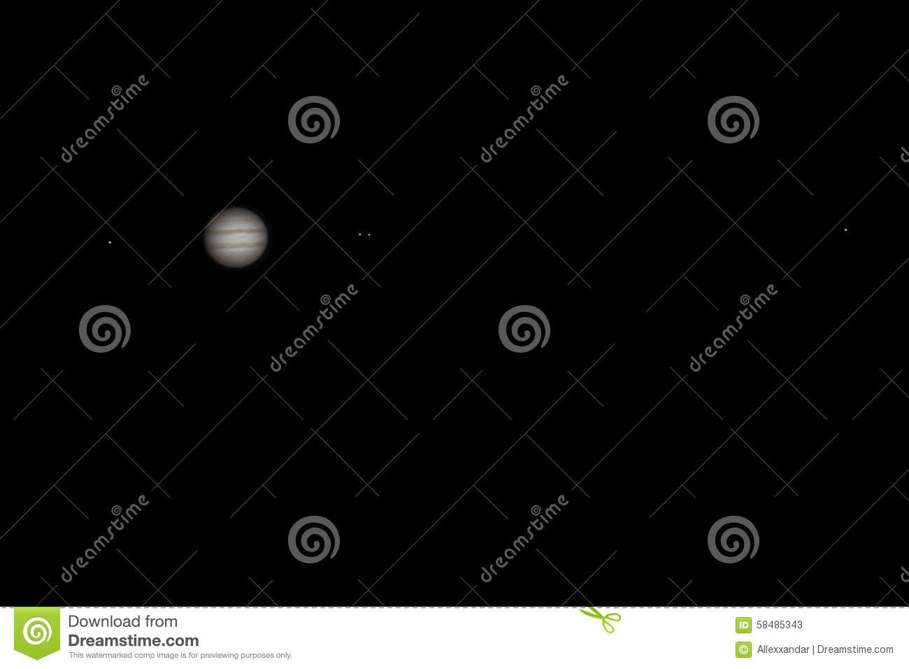 real picture of jupiter with satellites europa io ganymede