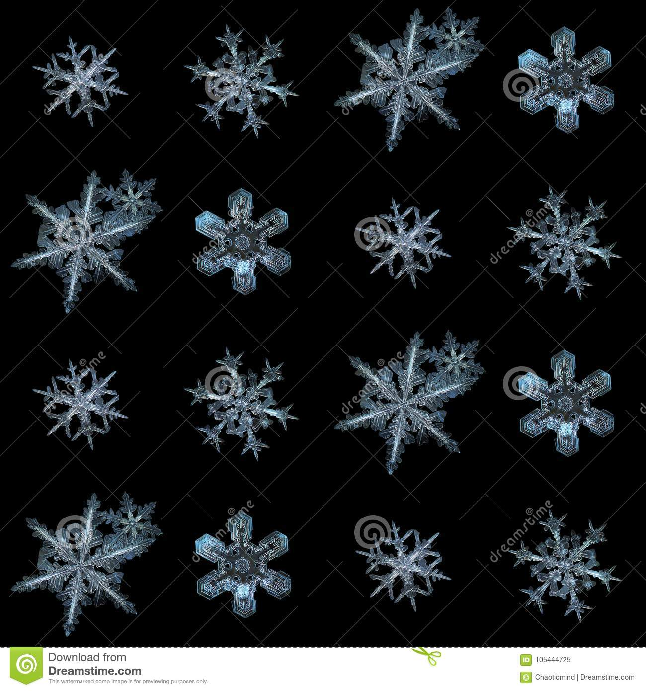 real snowflake - Free Large Images |Real Snowflakes Background
