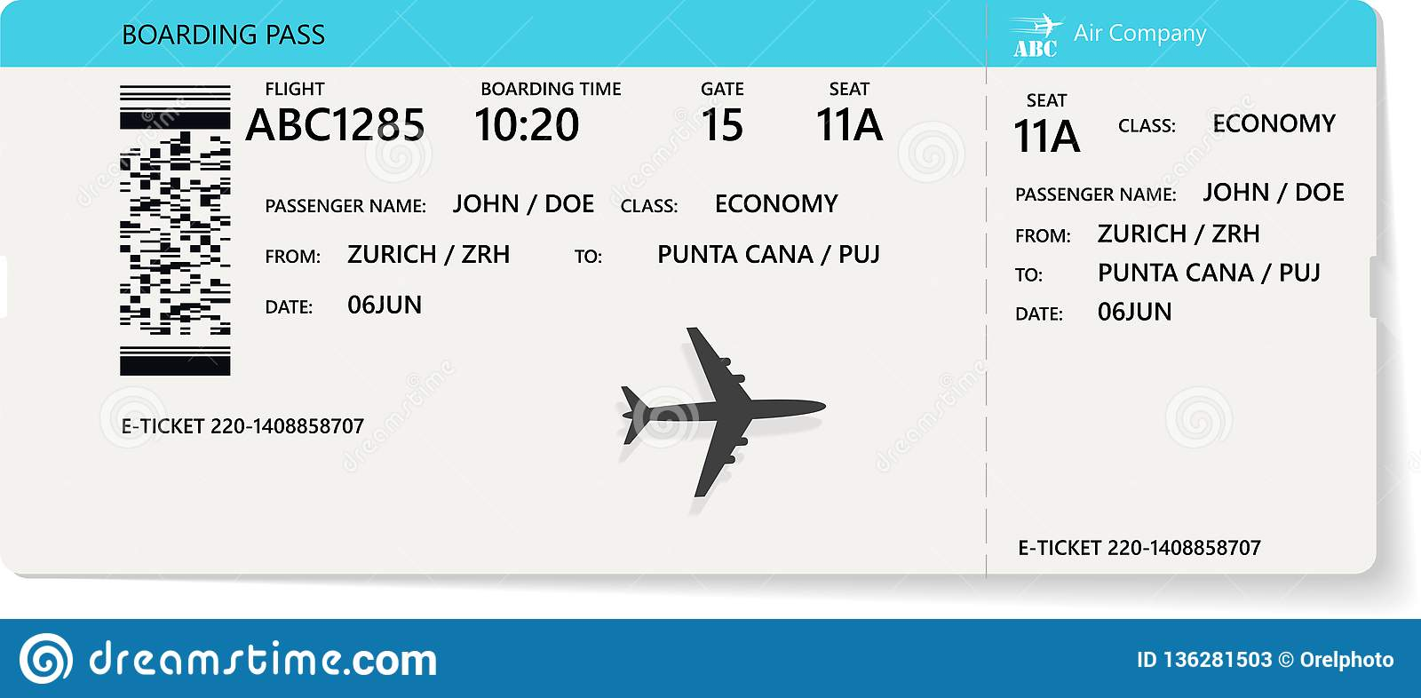 Airline Ticket Stock Illustrations – 11,314 Airline Ticket Stock  Illustrations, Vectors & Clipart - Dreamstime