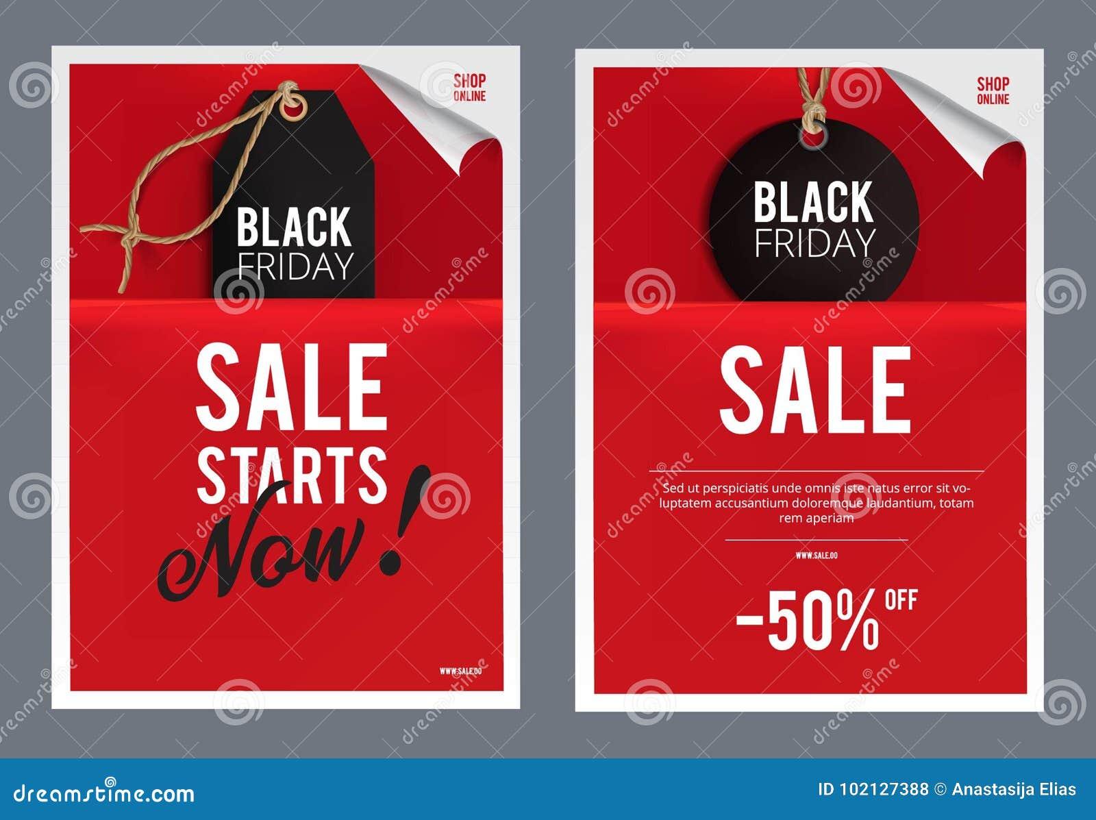 black friday sales template stock illustration illustration of