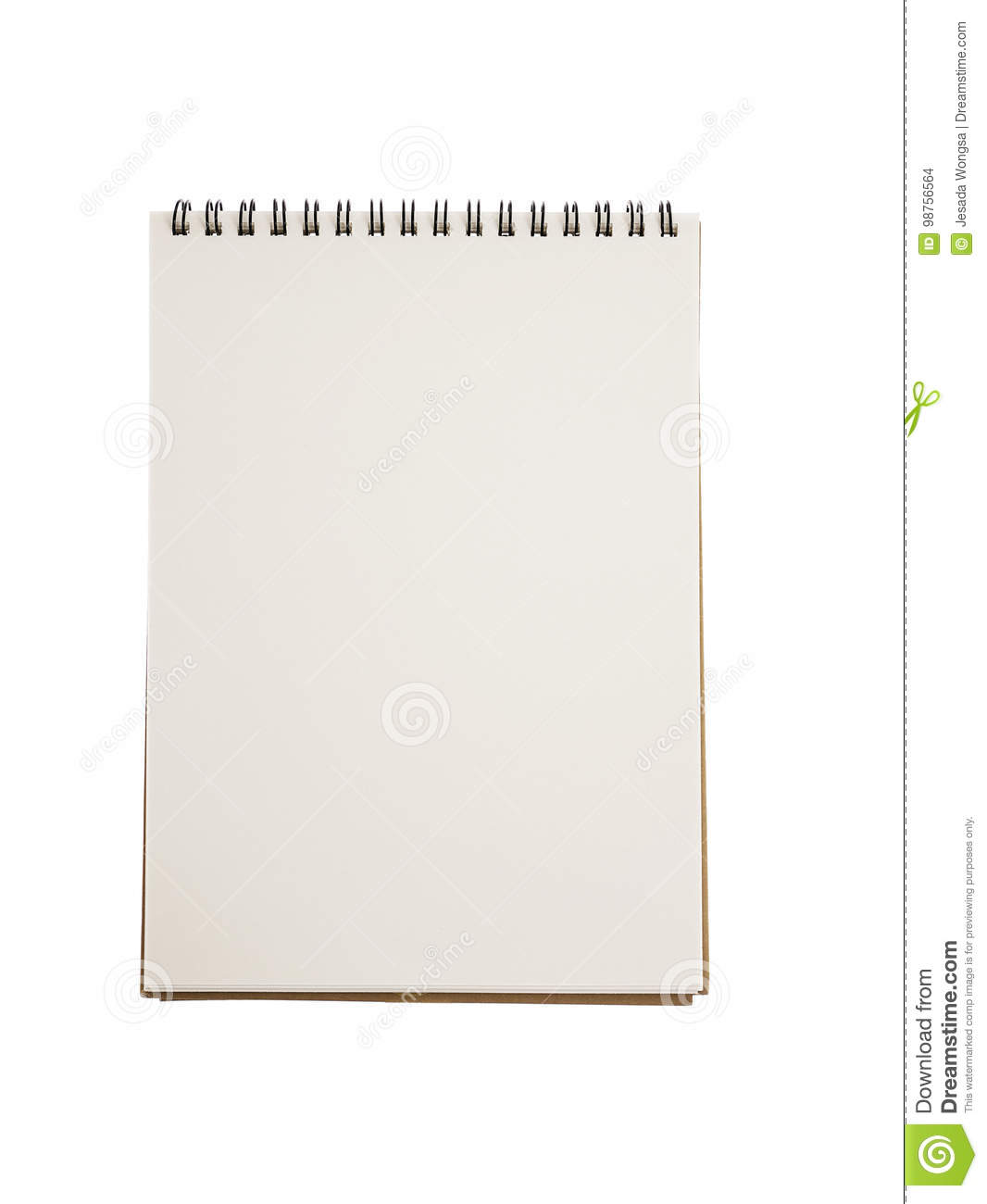 Realistic blank notebook template for cover design school business download realistic blank notebook template for cover design school business diary stock photo image of accmission Choice Image