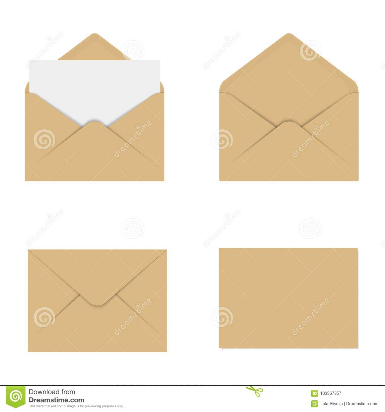 Realistic brown mockup envelope for letter or invitation card download realistic brown mockup envelope for letter or invitation card vector stock illustration illustration stopboris Image collections