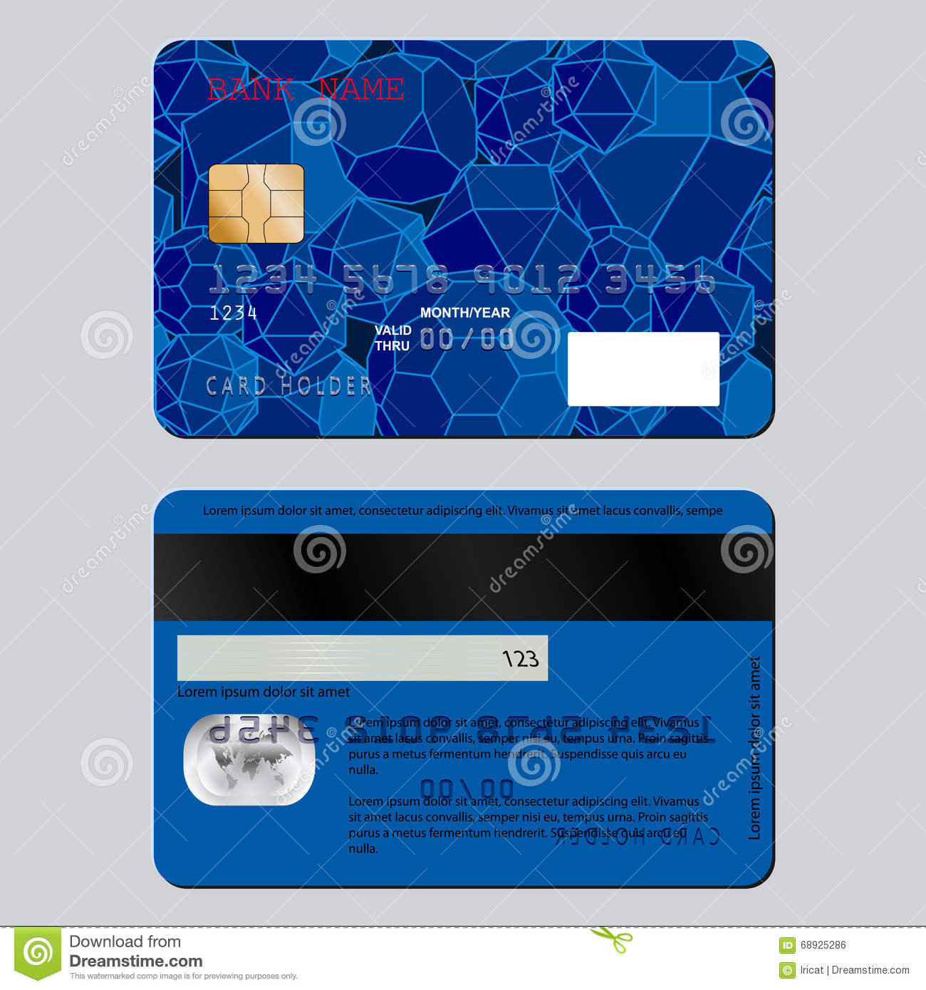 Sample Credit And Gift Cards Photography Image 5780652 – Sample Cards