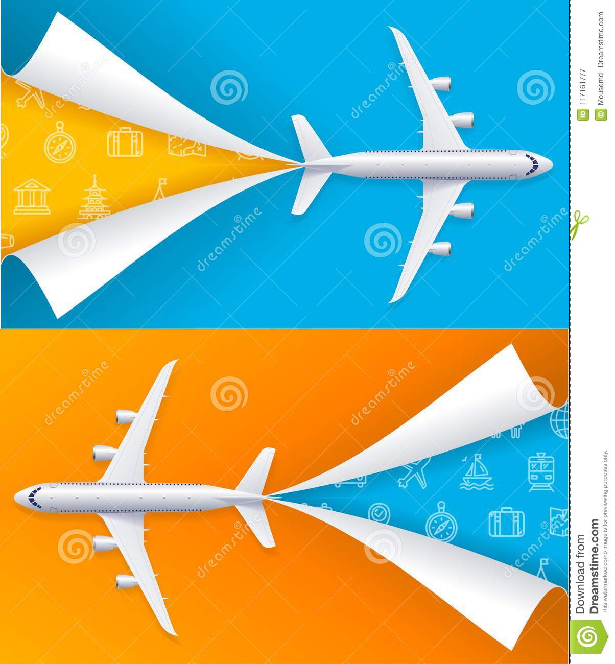 Travel Promotion Banners Grain Banners