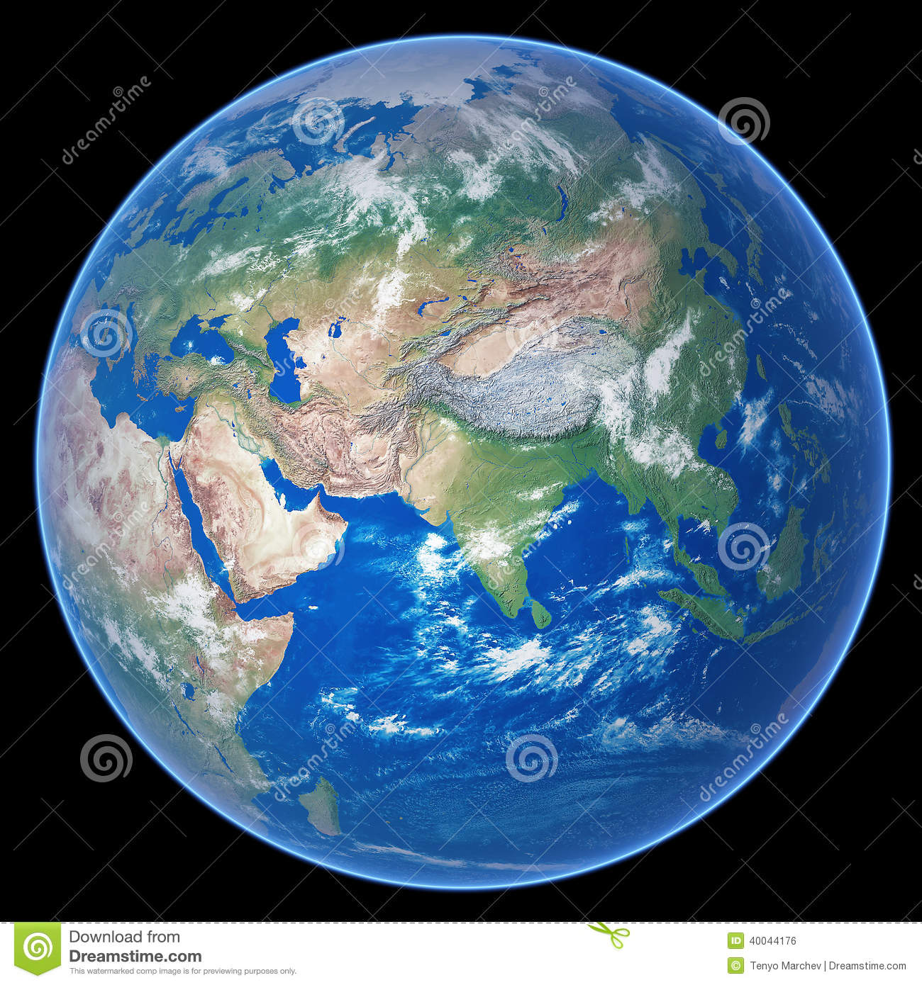 Planet Earth Stock Illustration Image 40044176