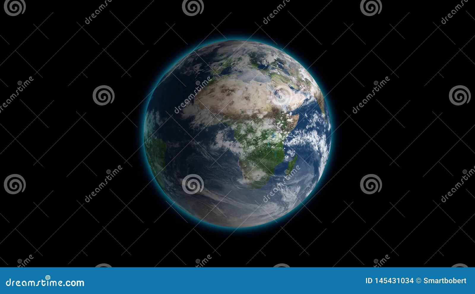 Seamless Planet Texture