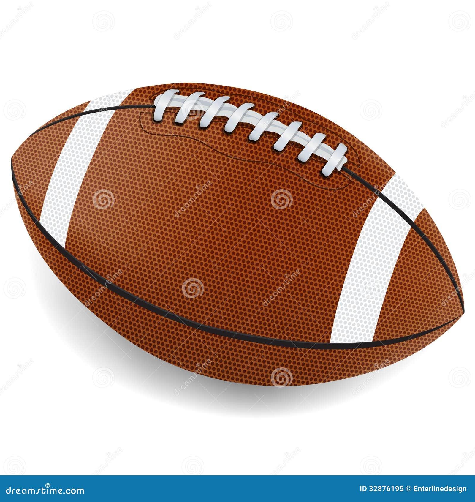 Realistic Football Illustration Stock Vector Image 32876195