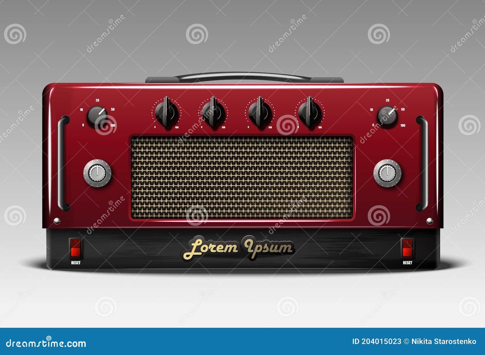 Guitar Amp Vector Stock Illustrations – 20,20320 Guitar Amp Vector ...