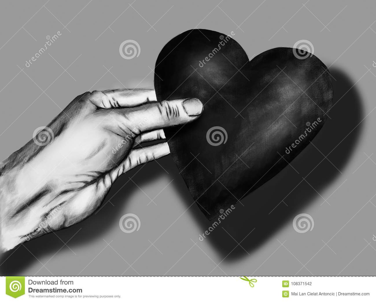 Realistic Heart Painting Stock Illustrations 439 Realistic Heart Painting Stock Illustrations Vectors Clipart Dreamstime