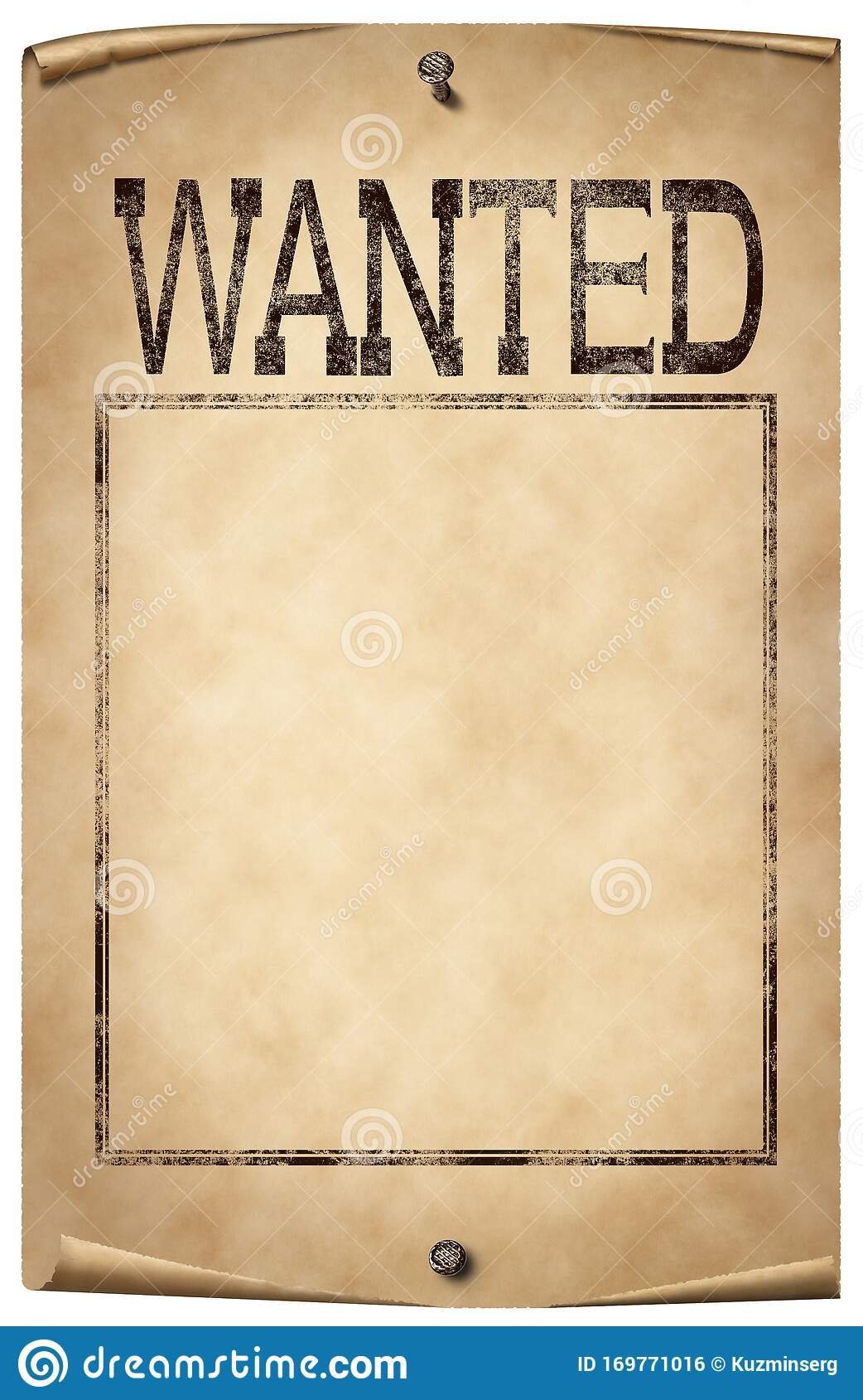 920 Blank Wanted Poster Photos Free Royalty Free Stock Photos From Dreamstime