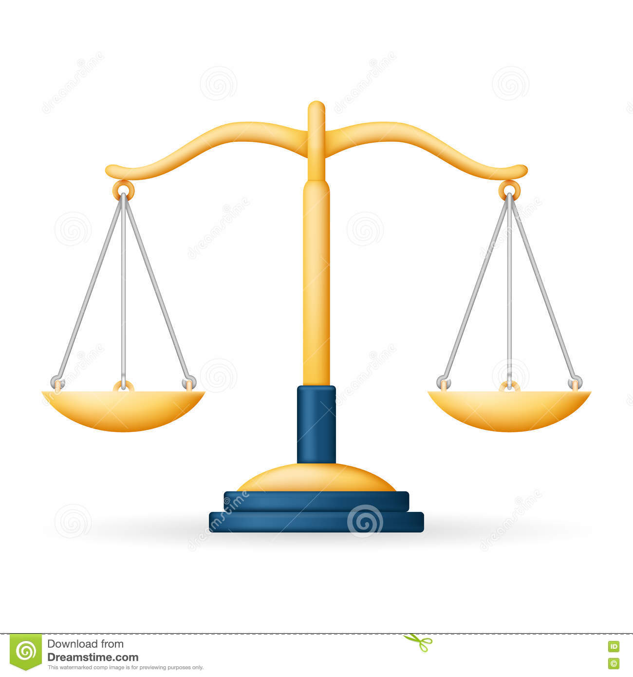 Realistic justice scales law balance symbol icon 3d design vector realistic justice scales law balance symbol icon 3d design vector illustration biocorpaavc Images