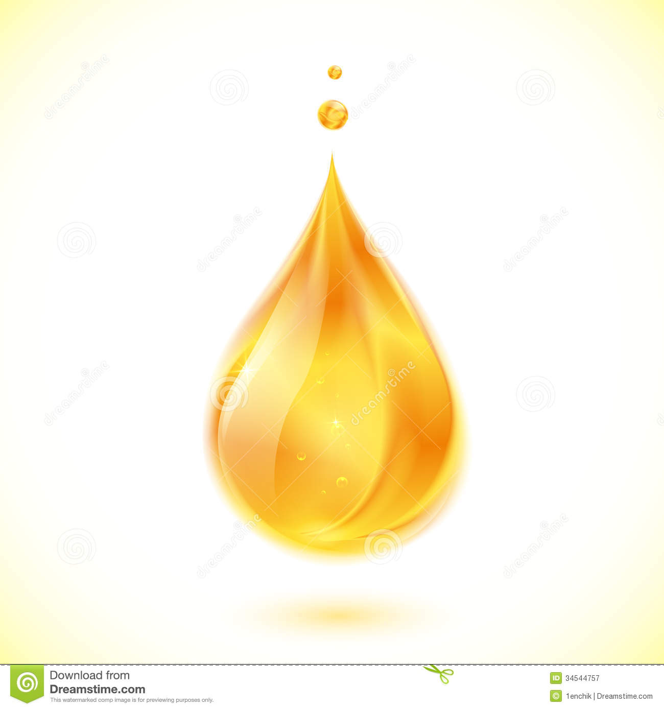 Realistic Oil Or Honey Vector Drop Royalty Free Stock Photography ...