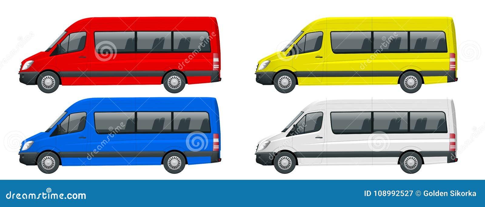 25922fea6438 Isolated Minibus Stock Illustrations – 1