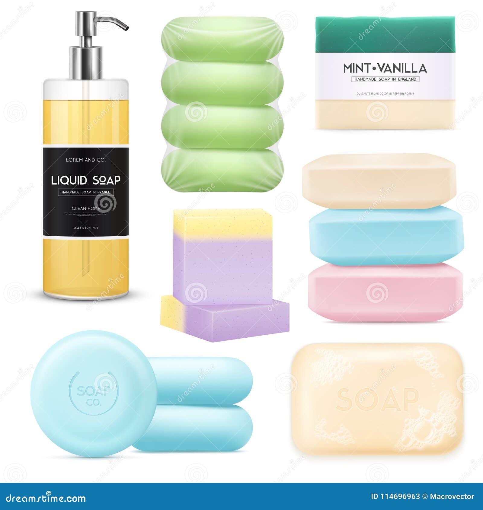 Realistic Soap Set