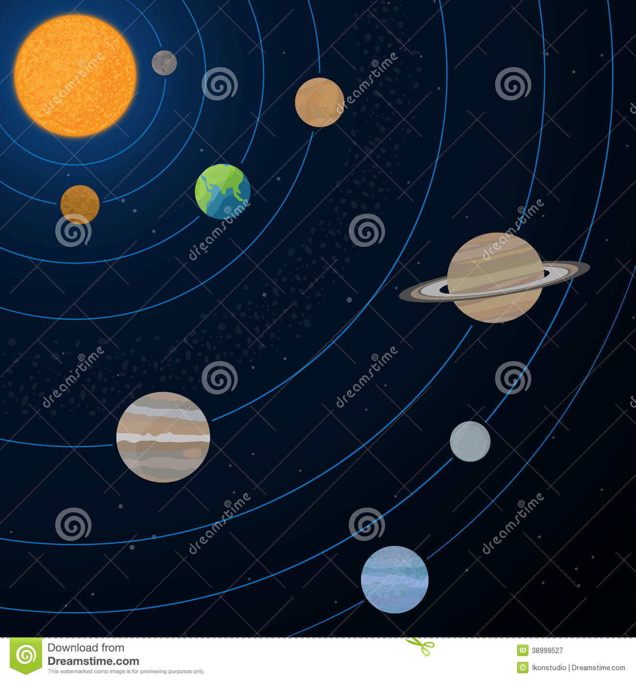 realistic solar system from above - photo #26