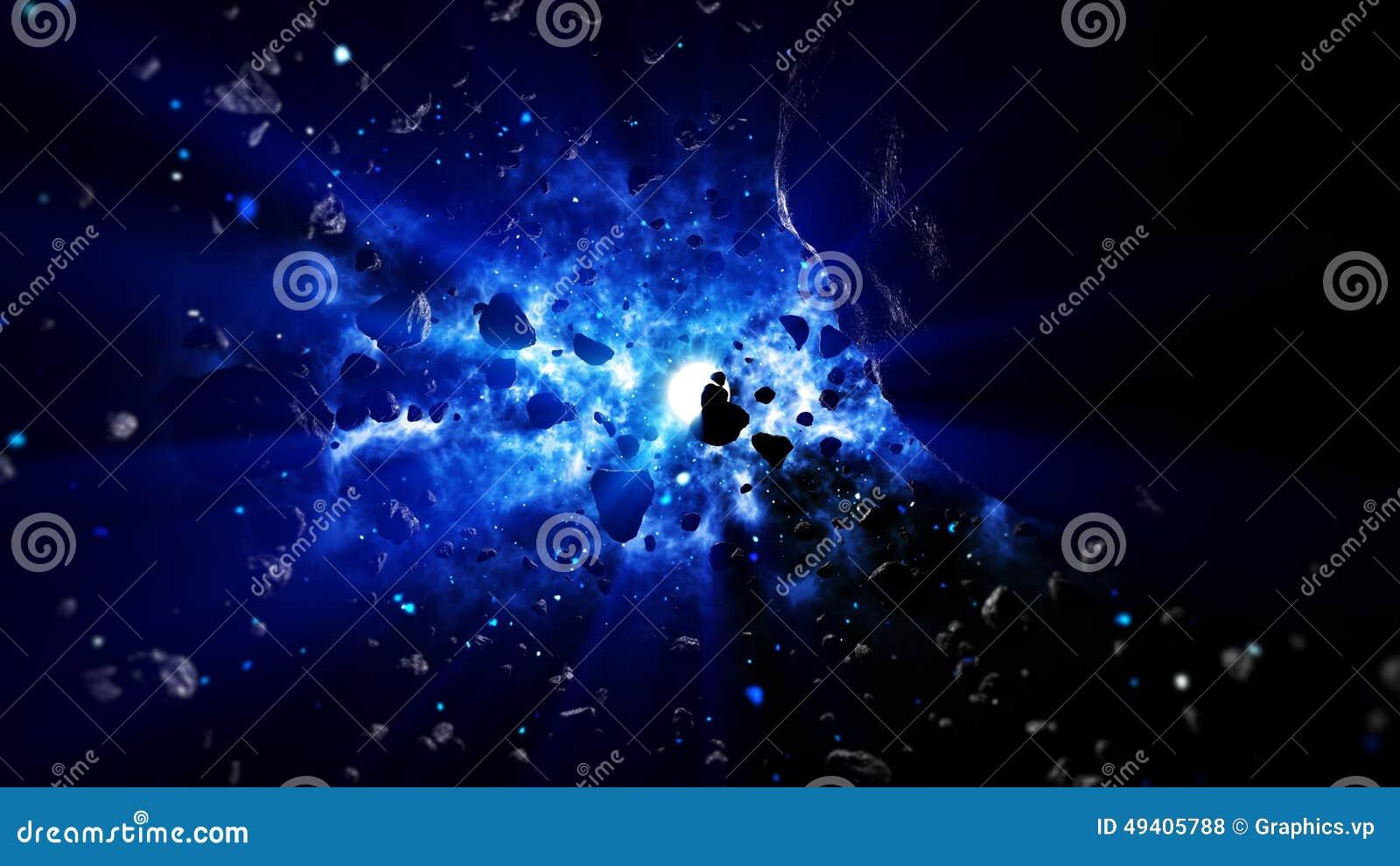 Download Realistische Raum-Szene stock abbildung. Illustration von dunkel - 49405788