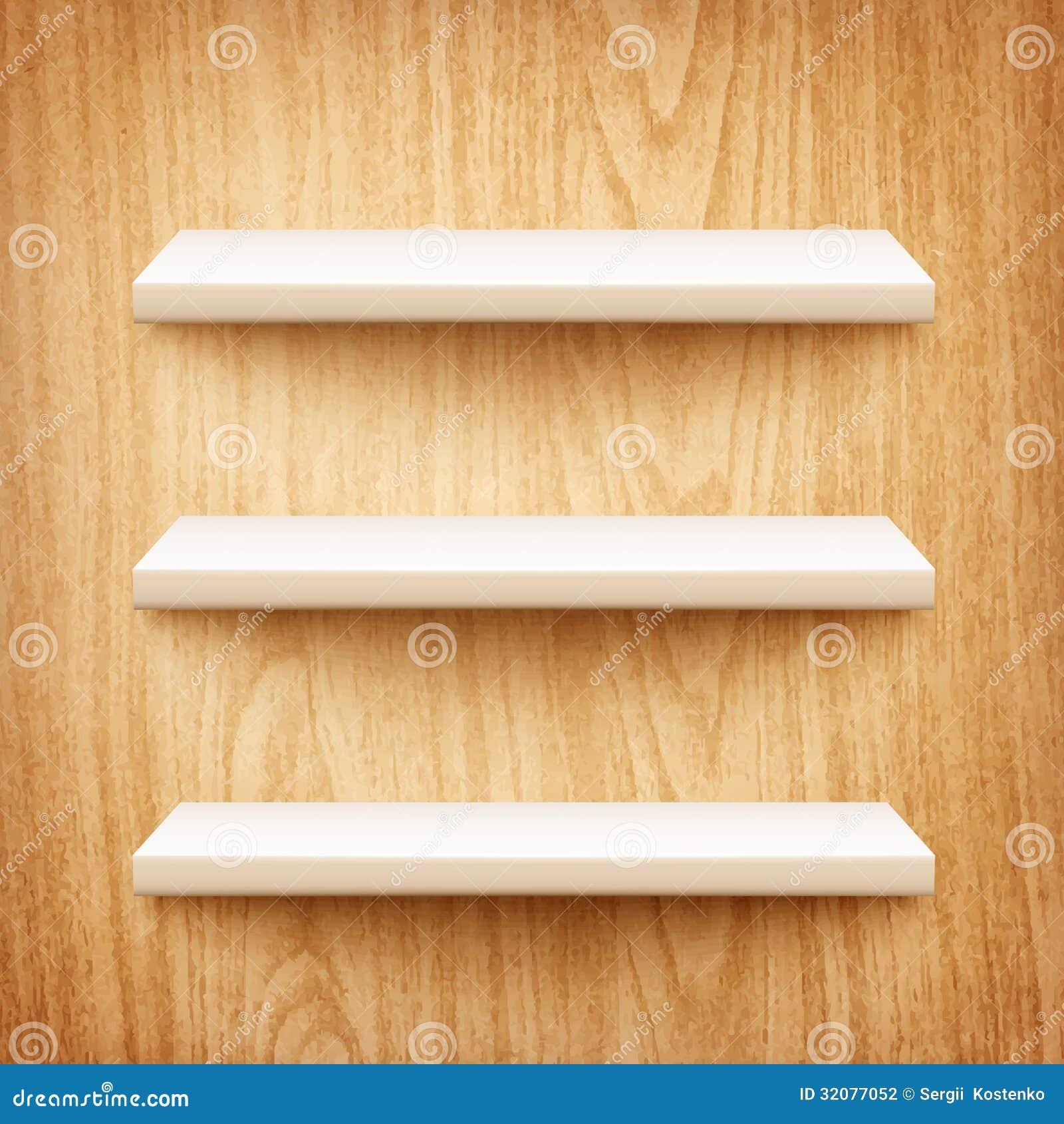 Realistische witte planken op houten muur stock fotografie beeld 32077052 - Parket aan de muur ...