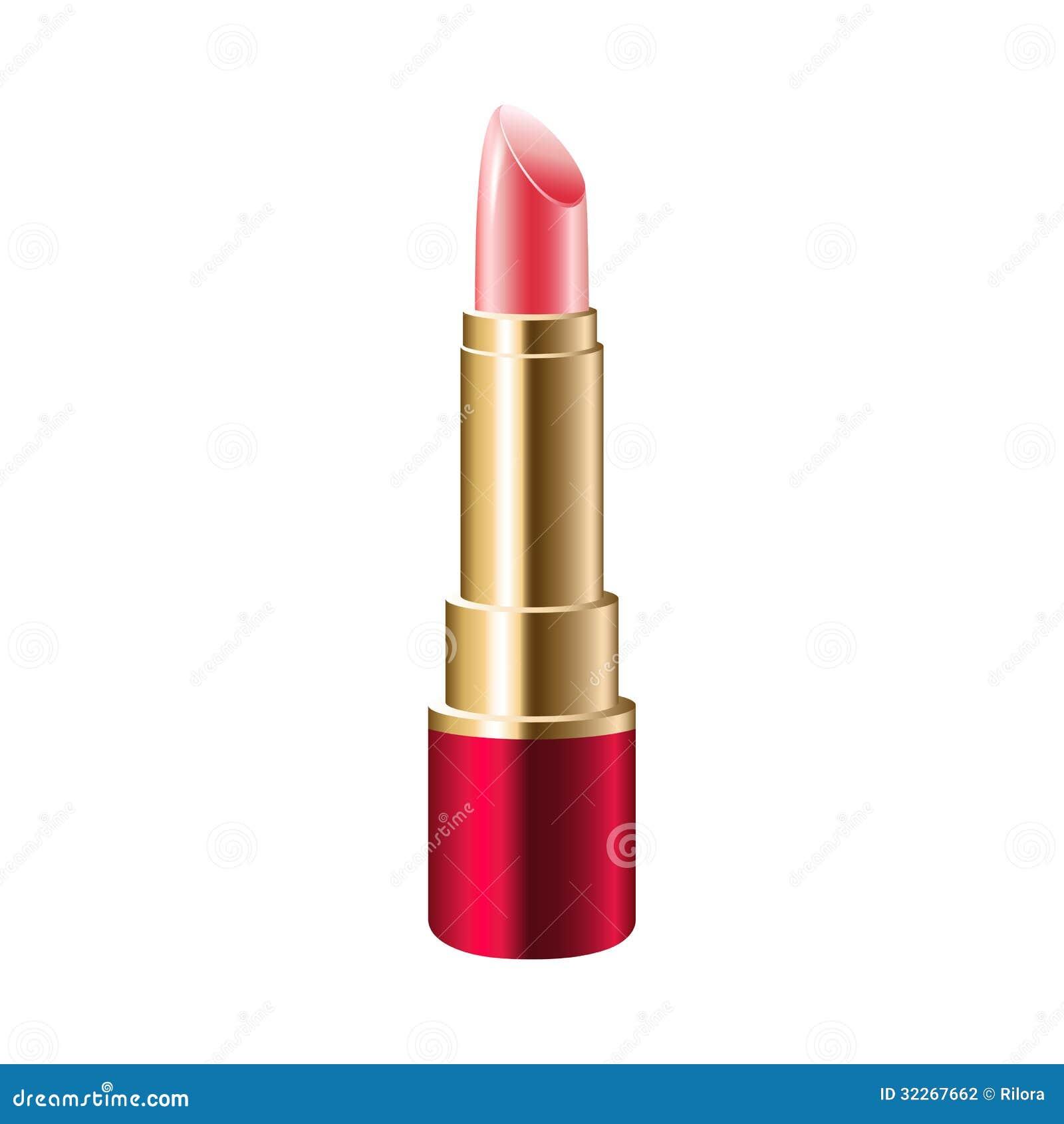 realistischer rosa lippenstift stockfotografie bild 32267662. Black Bedroom Furniture Sets. Home Design Ideas