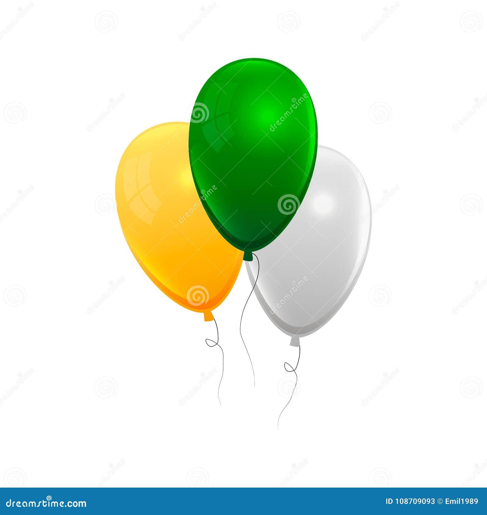 Realistisk luft stelnar ballongen