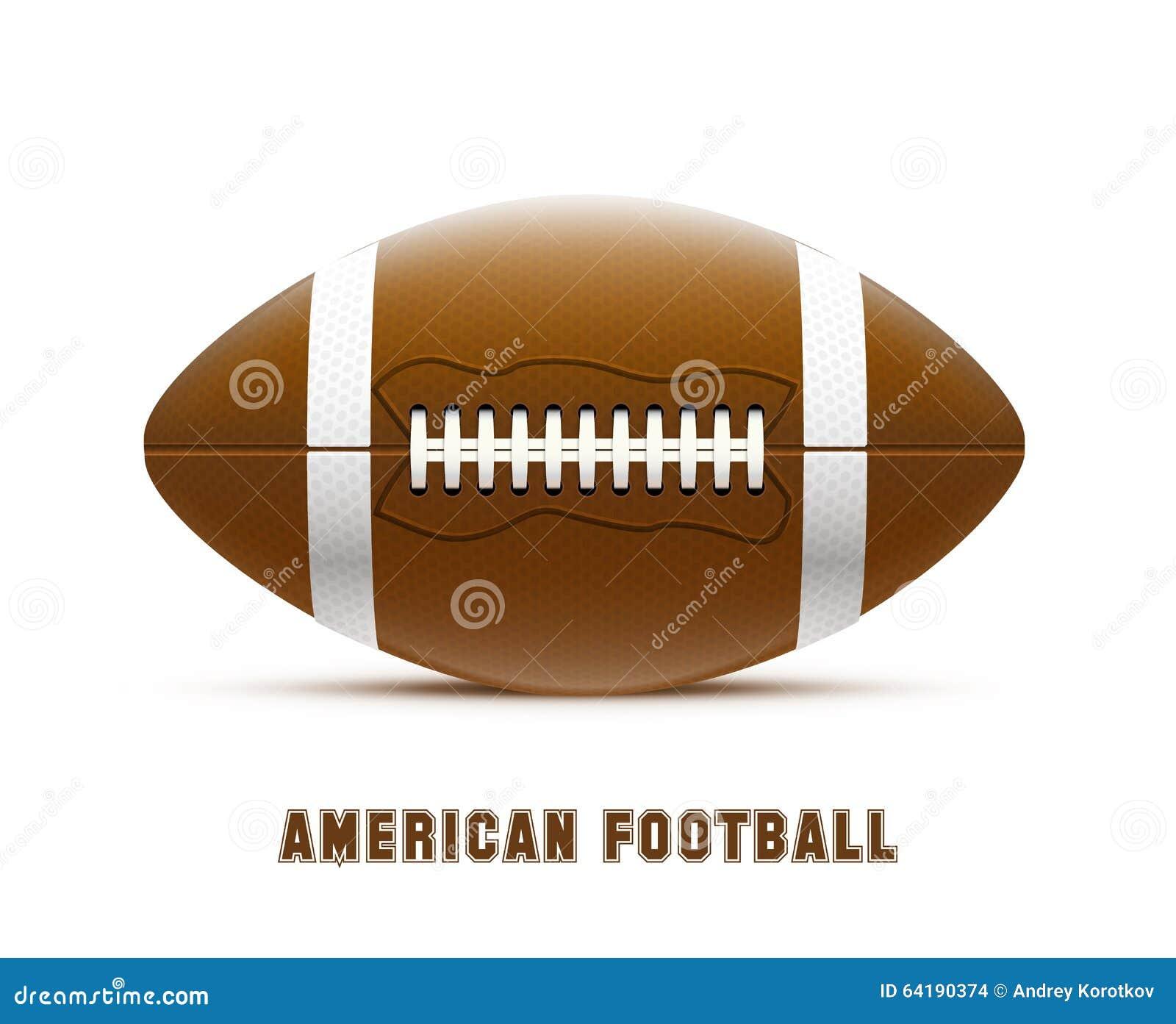 Realistiskt tema eps 10 för amerikansk fotboll