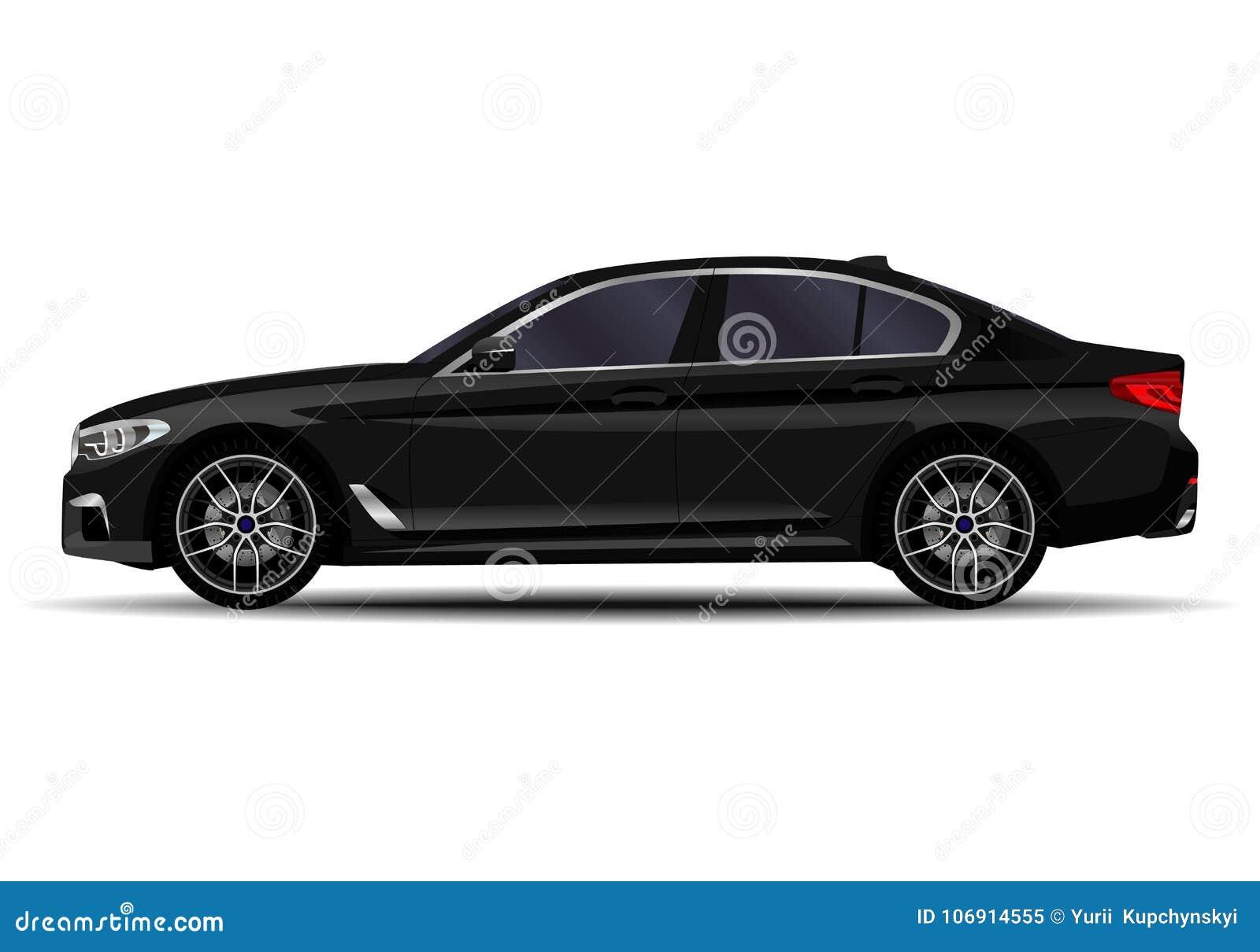 Realistyczny sedanu samochód